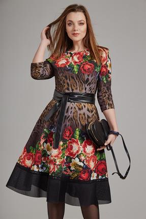 Платье Anna Majewska 1174 цветы