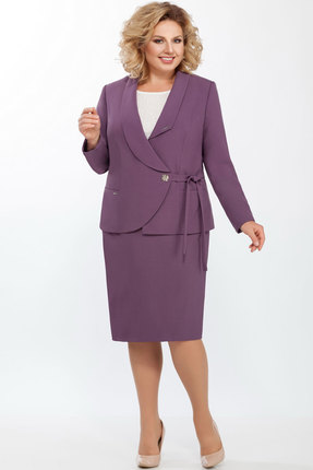 Комплект юбочный LaKona 1045 королевский пурпур