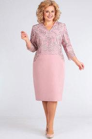 Платье Асолия 2441 пепельно-розовый