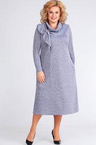 Платье Асолия 2440 голубой