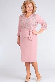 Платье Асолия 2436 пепельно-розовый