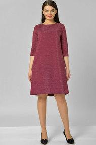 Платье Elga 01-582.1 малина