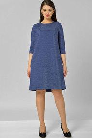 Платье Elga 01-582.1 василёк