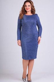 Платье Elga 01-640 василёк