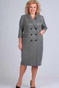 Платье Elga 01-639 серый