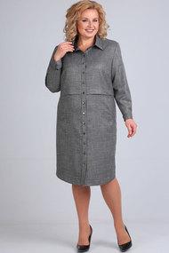 Платье Elga 01-641 серый