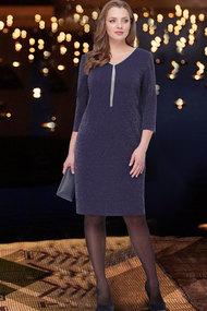 Платье ТАиЕР 814 тёмно-синий
