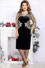 Платье Mira Fashion 4361-5 чёрный