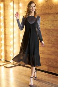 Платье Фантазия Мод 3586 черный