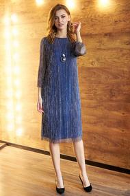 Платье Фантазия Мод 3621 синий