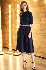 Платье Фантазия Мод 3654 синий