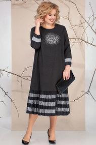 Платье Ivelta plus 1670 черный