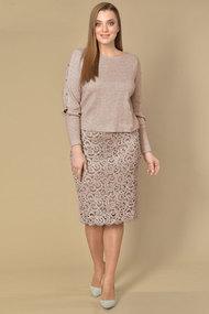Комплект юбочный Lady Style Classic 2028 пудровый