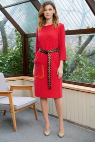 Платье Фантазия Мод 3635 малиновый