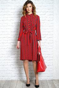 Платье Alani 1085 красный