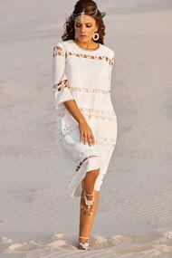 Платье Vittoria Queen 10023 белый