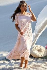 Платье Vittoria Queen 10083 пудровый