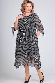 Платье Elga 01-616 чёрный