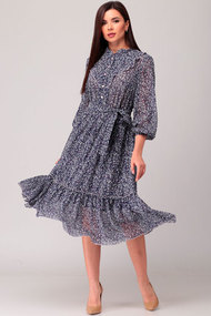 Платье Асолия 2463 синий
