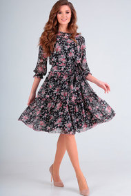 Платье Асолия 2462.1 чёрный
