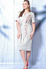 Платье MALI 419-018 натуральный