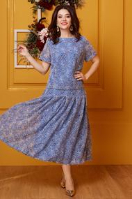 Комплект юбочный Anastasia 400 синий
