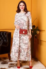 Платье Anastasia 398 серые тона