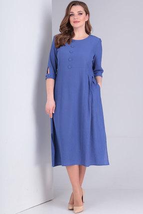 Платье Ришелье 787 джинс