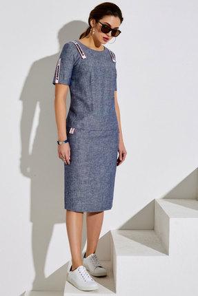 Платье Lissana 4006 джинсовый