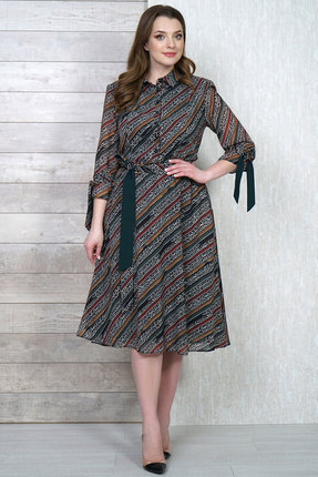 Платье Белтрикотаж 4272 мультиколор