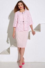 Комплект плательный Lissana 4020 розовый
