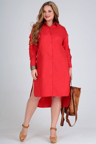 Платье Таир-Гранд 6547 красный