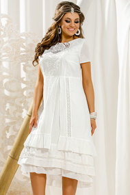 Платье Vittoria Queen 11433 молочный