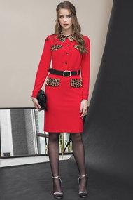 Платье Галеан Cтиль 769 красный