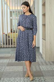 Платье Ladis Line 1253 синий