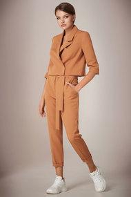 Комплект брючный Andrea Fashion AF-37 миндаль