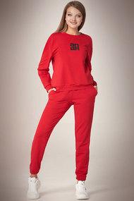 Спортивный костюм Andrea Fashion AF-61 красный