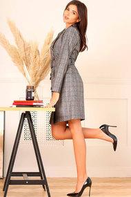 Платье Асолия 2485 серый