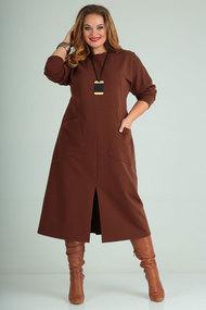 Платье SOVITA 2005 коричневый