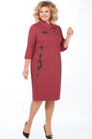 Платье Matini 31348 светлый бордо