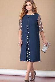 Платье Nadin-N 1827 тёмно-синий