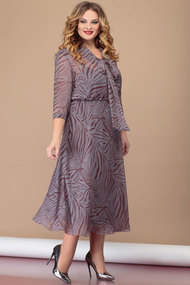 Платье Nadin-N 1831 серые тона