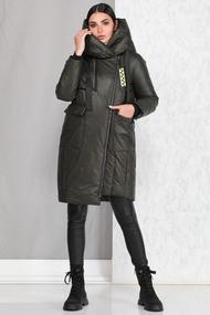 Пальто B&F 4008 хаки