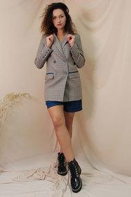 Комплект с шортами Juliet Style D185 разноцвет с синим