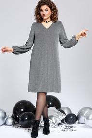 Платье Милора-Стиль 840 серые тона