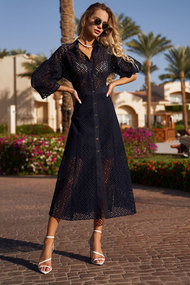 Платье Vesnaletto 2546/1 синий