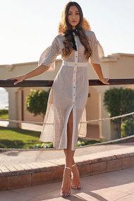 Платье Vesnaletto 2546/2 пудровый