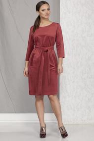 Платье B&F 1928 бордовые тона