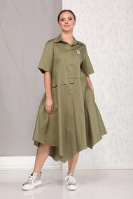 Платье B&F 1914 хаки