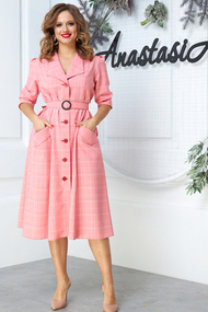 Платье Anastasia 527 розовые тона